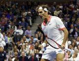 Federer 振奮怒吼