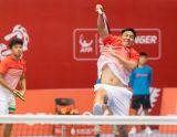 會內賽決賽 - 謝政鵬(左)楊宗樺(右)