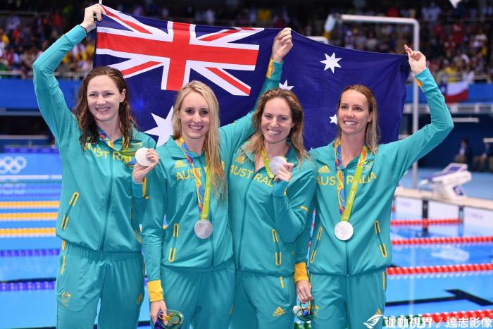 澳洲女子游泳隊