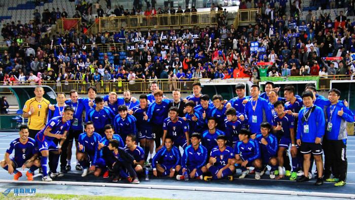 16中華男足V.S新加坡