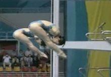 [杜哈亞運] 跳水女雙三米跳板 銅牌殘念