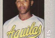 中華職棒史上單季最多次盜壘記錄的洋將 大帝士(Bernardo Tatis)球員卡