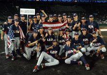 留給2025年9月的時空膠囊 2015 U18美國青棒國家隊 簽名全紀錄