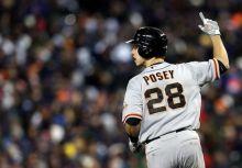 巨人鐵捕Posey生涯百轟!