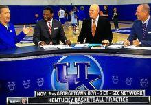 肯塔基大學為NBA球探們舉辦的聯合試訓