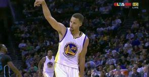 Stephen Curry輕鬆取下40分,帶領勇士開季20連勝