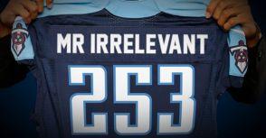 NFL 選秀每年都有的「無關緊要先生」