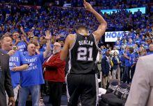 時代的背影--黑衫巨人Tim Duncan