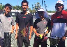 何承叡在IMG Tennis Academy的訓練報告2-向日本職業選手學習