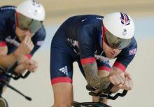 「奧運單車」自由車場地團隊追逐賽 英國力拼世界紀錄、奧運金牌、三連霸!