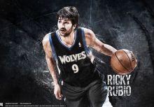 【開箱】 Timberwolves 客場黑 - Ricky Rubio 9