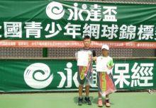 永達盃B級》10歲組小小球王余承恩 嬌小身材勇奪冠
