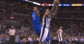 【精彩影片】Tony  Parker做出Kobe、Jordan一般的進攻動作