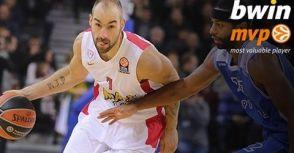 歐冠》14-15球季10月最有價值球員 Vassilis Spanoulis