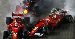 【F1】Rd.14新加坡GP回顧:令人訝異的開局,這會是決定世界冠軍的一瞬間嗎?