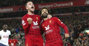 英超19/20賽季-利物浦2-1熱刺-攻擊乏力紅軍險勝