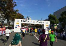 2014大阪馬拉松。正賽日篇