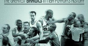 NBA季後賽史上最大的14場鬥毆事件