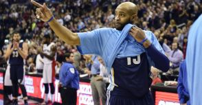 It's over-Vince Carter