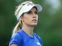 佩姬的高爾夫揮桿圓心報導(2)Paige Spiranac`s Swing Rotation Center Shifting (2)