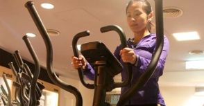 運動新手輕鬆入門的心肺運動好幫手 – 高島Reebok GX40滑步機