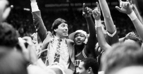 """Don't give up, don't ever give up""—""Jimmy V"" Jim Valvano"