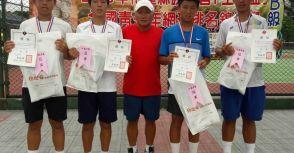 勝安宮王母盃B級》16歲組雙料冠軍搖籃 蔡長霖稱霸單雙打