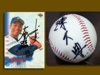 一顆簽名球的溫度  想念 陳大豊
