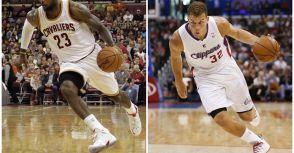 LeBron James、Blake Griffin 獲選東西區單週最佳球員(第五週)