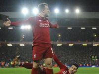 英超18/19賽季-利物浦3-1曼聯-紅軍全面勝利!
