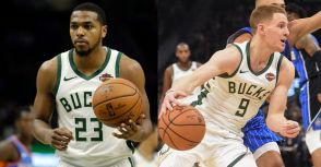 沒了Khris Middleton,公鹿還有Sterling Brown與Donte DiVincenzo!