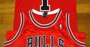 NBA球衣視界 - Appendix (4): Derrick Rose & Ben Gordon AU Jerseys