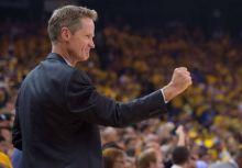 Steve Kerr:我們每晚只讓 Curry 打 32 分鐘是有原因的