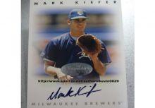 興農牛 楓康 Mark Kiefer LEAF 1996 簽名卡
