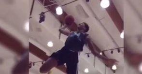 「巨無霸」O'neal兒子現年15歲已經完成Alley Oop,「O'neal」要再次稱霸NBA了嗎?