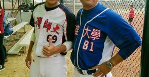 具有快速壘球背景的前職棒選手(一)李坤哲