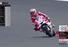 【MotoGP】Rd.17馬來西亞站排位賽:雨勢成考驗,Ducati車手Dovizioso取竿位