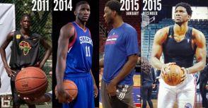 76人「神話」中鋒Joel Embiid完全解放時,會否成NBA最強中鋒?!