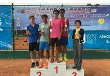 南瀛盃國際青少年》男女雙打冠留台灣 C級同場開打
