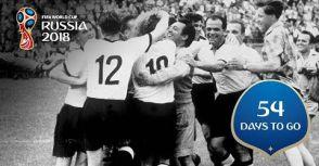 【世界盃足球賽倒數 54 天】世足賽的第一次電視轉播!