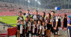 TFA台北外師足球體育學院朝聖C羅 顯見台灣、新加坡足球文化水平差距