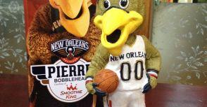 [搖頭娃娃收藏] NBA球隊吉祥物 搖頭娃娃 最後一塊拼圖到手 — 紐奧良鵜鵠隊 Pierre
