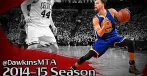 太誇張! Stephen Curry 2014/2015球季控球技巧合集