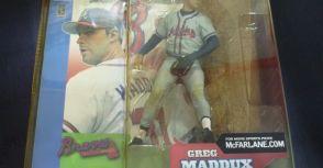 麥法蘭MLB 2代 亞特蘭大勇士隊Greg Maddux灰衣變體版 開箱文