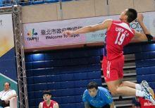 【球技】學學歐告陳建禎的絕招,強力的跳躍發球