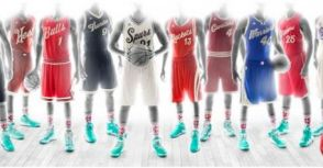 NBA聖誕大戰主題球衣,確定將有十隊著用