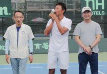 台維斯盃》關鍵雙打 中華隊拍下首勝