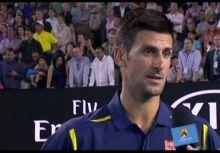 Jim Courier 對 Djokovic的幽默訪談