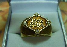 1995年亞洲盃棒球錦標賽 球員參賽紀念戒