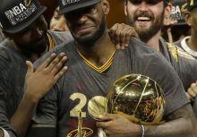 騎士對勇士 NBA總冠軍賽感言